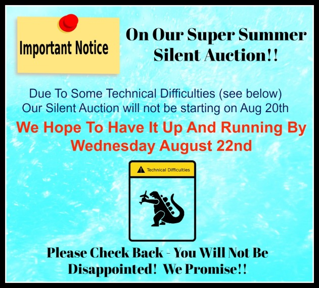 Silent Auction Update 1